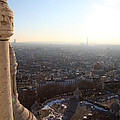 View From Basilica Of The Sacred Heart Of Paris - Sacre Coeur - Paris France - 011310 by DC Photographer