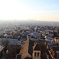 View From Basilica Of The Sacred Heart Of Paris - Sacre Coeur - Paris France - 011318 by DC Photographer