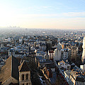 View From Basilica Of The Sacred Heart Of Paris - Sacre Coeur - Paris France - 011320 by DC Photographer
