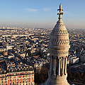 View From Basilica Of The Sacred Heart Of Paris - Sacre Coeur - Paris France - 011332 by DC Photographer