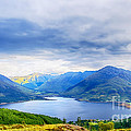 View From Bealach Ratagan To The Five Sisters Of Kintail by Chris Thaxter
