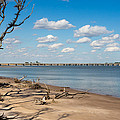 View From Big Talbot Island Beach by John M Bailey