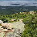 View From Cadillac Mountain - Acadia Park by Christiane Schulze Art And Photography