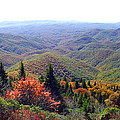 View From Devil's Courthouse Mountain by Duane McCullough