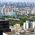 View From Edificio Martinelli 2 - Sao Paulo by Julie Niemela