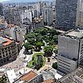 View From Edificio Martinelli 3 - Sao Pulo by Julie Niemela