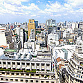 View From Edificio Martinelli - Sao Paulo by Julie Niemela