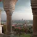 View From Fishermans Bastion by Joan Carroll