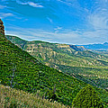 View From Knife Edge Road Overlooking Montezuma Valley In Mesa Verde National Park-colorado   by Ruth Hager