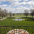 View From Main House Balcony by Jack R Perry