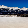 View From Meadow Creek Resevoir by Jon Burch Photography