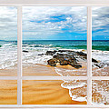 View From My Beach House Window by Kaye Menner