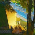 View From My Window On A Summer Afternoon  B-12 by Diane Strain