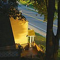 View From My Window On A Summer Afternoon  B-21 by Diane Strain