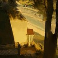 View From My Window On A Summer Afternoon  B-4 by Diane Strain