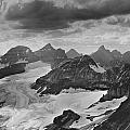 T-303501-bw-view From Quadra Mtn Looking Towards Ten Peaks by Ed  Cooper Photography