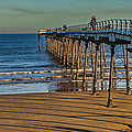 View From Saltburn Pier by Trevor Kersley