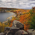 View From The Bluffs by Leda Robertson