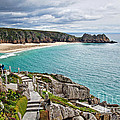 View From The Minack Theatre by Susie Peek