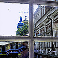 View From The Novodevichy Convent - Russia by Madeline Ellis