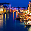 View From The Rialto Bridge by Gigi Ebert