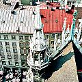 View From The Top Of Munich City Hall by Phyllis Kaltenbach