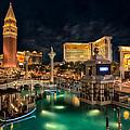 View From The Venetian by Eduardo Tavares