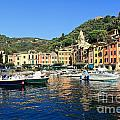 view in Portofino by Antonio Scarpi