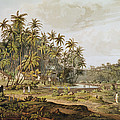 View Near Point Du Galle, Ceylon, Engraved By Daniel Havell 1785-1826 Published In 1809 Coloured by Henry Salt
