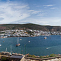 View Of A Harbor From A Castle, St by Panoramic Images