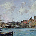 View Of Antibes by Eugene Louis Boudin