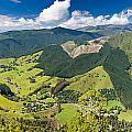 View Of Arthur Range In Kahurangi Np Of New Zealand by Stephan Pietzko