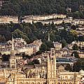 View Of Bath England by Jill Battaglia