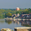 View Of Boathouse Row  by Bill Cannon