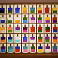 View Of Bottles Used In Aura Soma Colour Therapy by David Parker/science Photo Library