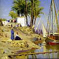 View Of Cairo by Peder Mork Monsted