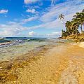 View Of Caribbean Coastline by Jess Kraft