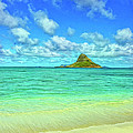 View Of Chinaman's Hat by Dominic Piperata