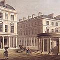 View Of Cross Bath, Bath Street by John Claude Nattes