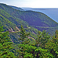 View Of Highlands Road From Skyline Trail In Cape Breton Highlands Np-ns by Ruth Hager