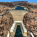 View Of Hoover Dam by Eddie Yerkish