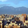 View Of Kaohsiung City In Taiwan by Yali Shi