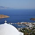 View Of Livadi Port by George Atsametakis