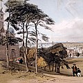 View Of London From Greenwich Park, 1842 by Thomas Shotter Boys