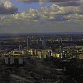view of London within the Clouds by Fred West