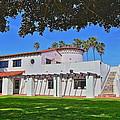 View Of Ole Hanson Beach Club San Clemente by Richard Cheski