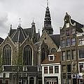 View Of Oude Kerk Amsterdam by Teresa Mucha