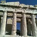 View Of Parthenon by Katerina Kostaki