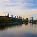 View Of Philadelphia From The Girard Avenue Bridge by Bill Cannon