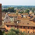 View Of Pietrasanta by Giovanni Bertagna